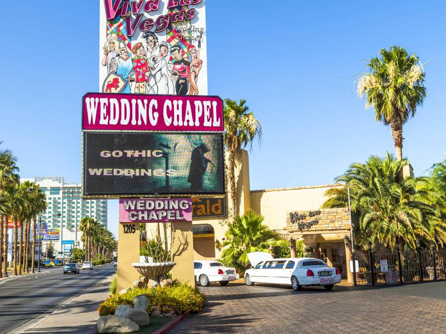 Gifte seg i Las Vegas