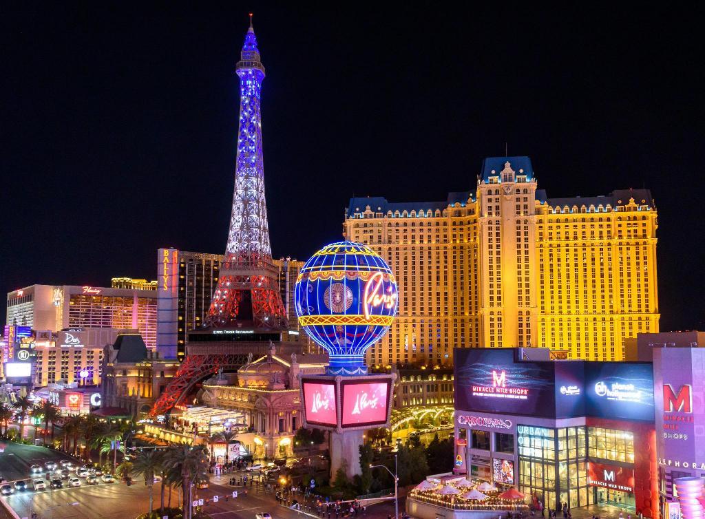 Las Vegas: De 5 beste attraksjonene for kjærestepar